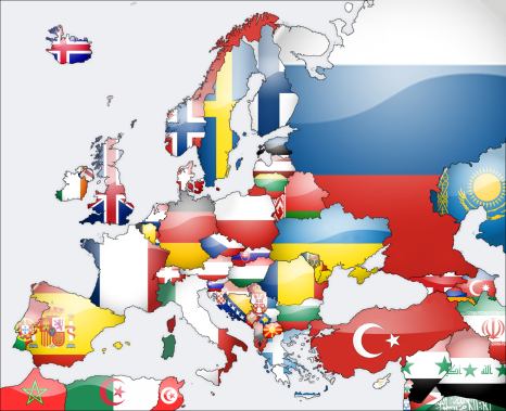 europe_flag_map_by_lg_studio